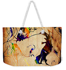 Heath Ledger The Joker Collection Weekender Tote Bag by Marvin Blaine