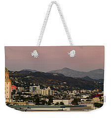 High Angle View Of A City, Beverly Weekender Tote Bag by Panoramic Images
