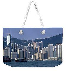 Hong Kong China Weekender Tote Bag by Panoramic Images
