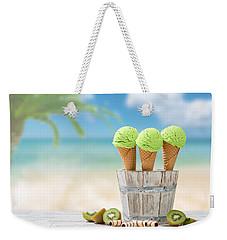 Ice Creams  Weekender Tote Bag by Amanda Elwell