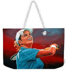 Kim Clijsters Weekender Tote Bag by Paul Meijering