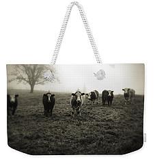 Livestock Weekender Tote Bag by Les Cunliffe