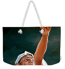 Lleyton Hewitt Weekender Tote Bag by Paul Meijering