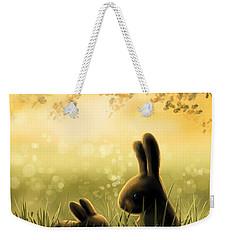 Love Weekender Tote Bag by Veronica Minozzi