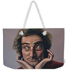 Marty Feldman Weekender Tote Bag by Paul Meijering