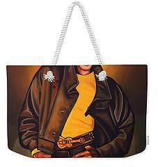 Michael Jackson Weekender Tote Bag by Paul Meijering