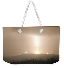 Weekender Tote Bag featuring the photograph Minuteman IIi Missile Test by Science Source