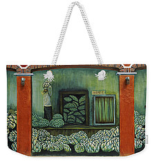 Mural On A Wall, Cancun, Yucatan, Mexico Weekender Tote Bag by Panoramic Images