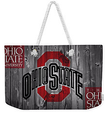 Ohio State Buckeyes Weekender Tote Bag by Dan Sproul