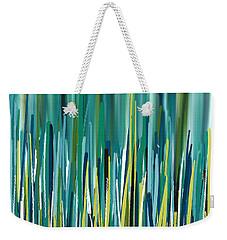 Peacock Spikes Weekender Tote Bag by Lourry Legarde
