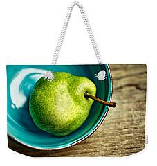 Pears Weekender Tote Bag by Nailia Schwarz