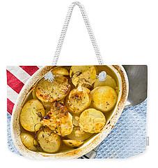 Potato Dish Weekender Tote Bag by Tom Gowanlock