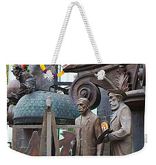 Russian Super-artist Sculptures, Zurab Weekender Tote Bag by Panoramic Images