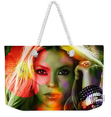Shakira Weekender Tote Bag by Marvin Blaine