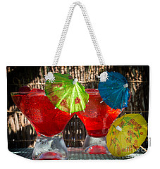 Shirley Temple Cocktail Weekender Tote Bag by Iris Richardson