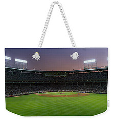Spectators Watching A Baseball Match Weekender Tote Bag by Panoramic Images