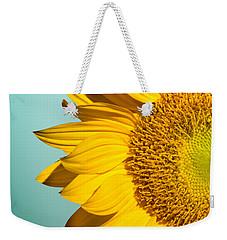 Sunflower Weekender Tote Bag by Mark Ashkenazi