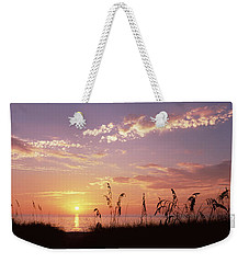 Sunset Over The Sea, Venice Beach Weekender Tote Bag by Panoramic Images