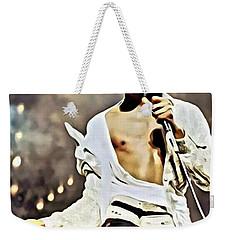 The King Of Pop Weekender Tote Bag by Florian Rodarte