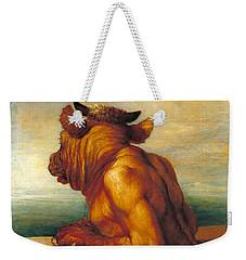 The Minotaur Weekender Tote Bag by George Frederic Watts