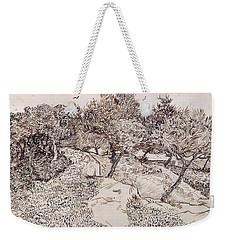 The Olive Trees Weekender Tote Bag by Vincent Van Gogh