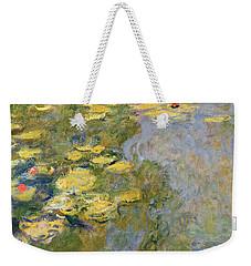 The Waterlily Pond Weekender Tote Bag by Claude Monet