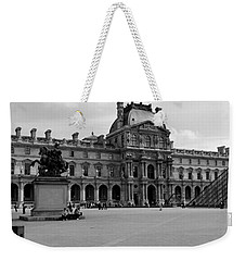 Tourists In The Courtyard Of A Museum Weekender Tote Bag by Panoramic Images