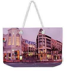 Traffic On The Road, Rodeo Drive Weekender Tote Bag by Panoramic Images