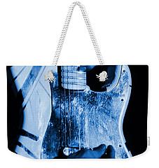 Vh #1 In Blue  Weekender Tote Bag by Ben Upham
