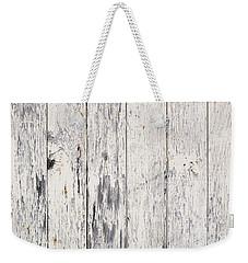 Weathered Paint On Wood Weekender Tote Bag by Tim Hester