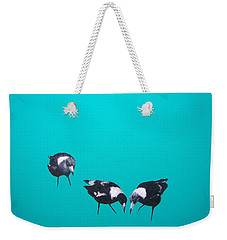What About Me Weekender Tote Bag by Jan Matson
