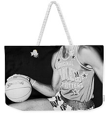 Wilt Chamberlain Weekender Tote Bag by Fred Palumbo
