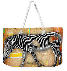 Zebra Collection Weekender Tote Bag by Marvin Blaine