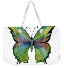 11 Prism Butterfly Weekender Tote Bag by Amy Kirkpatrick