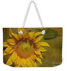Sunflower Weekender Tote Bag by Cindi Ressler