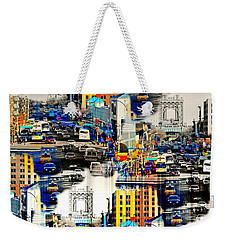 125th Street At A Glance Weekender Tote Bag by Diana Angstadt