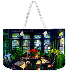 Glensheen Mansion Duluth Weekender Tote Bag by Amanda Stadther