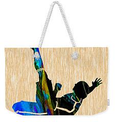Soccer Weekender Tote Bag by Marvin Blaine