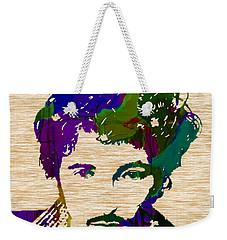 Bruce Springsteen Weekender Tote Bag by Marvin Blaine