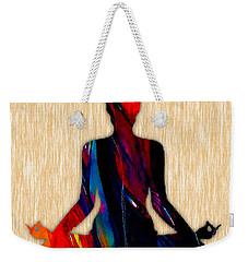 Fitness Yoga Weekender Tote Bag by Marvin Blaine