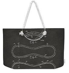 1928 Baseball Patent Artwork - Gray Weekender Tote Bag by Nikki Marie Smith