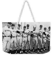 1961 San Francisco Giants Weekender Tote Bag by Underwood Archives