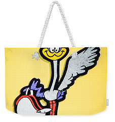 1970 Plymouth Superbird Emblem -1898c Weekender Tote Bag by Jill Reger