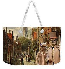 Brussels Griffon - Belgium Griffon Art Canvas Print  Weekender Tote Bag by Sandra Sij