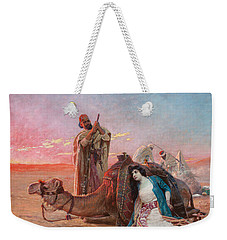 A Rest In The Desert Weekender Tote Bag by Otto Pilny