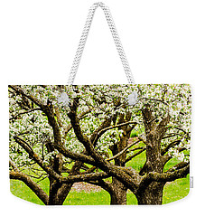 Apple Blossoms Weekender Tote Bag by Joe Mamer