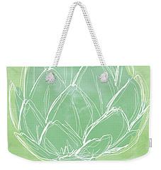 Artichoke Weekender Tote Bag by Linda Woods