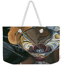 Chocolate Martini Weekender Tote Bag by Debbie DeWitt