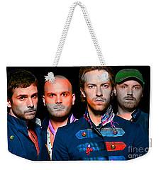 Coldplay Weekender Tote Bag by Marvin Blaine