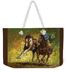 Rodeo Pickup Weekender Tote Bag by Don  Langeneckert